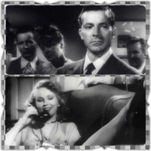 Dana Andrews and Virginia Mayo as Fred and Mary Derry