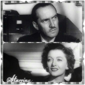 Fredric March and Myrna Loy as Al and Milly Stephenson