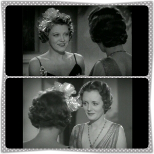 """Fran: """"No woman enjoys getting to be 35"""" Edith: """"When you're my age you'll look back on 35 as a most agreeable time of life, Mrs. Dodsworth."""" Fran: """"I hope I look as young as you do…when I'm your age"""" Edith: """"You're almost sure to my dear."""""""