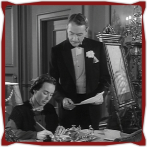What are these papers Sturges has Mrs. Uzcadum signing?  Is it about the money he promised or is she signing away her first grape harvest?  So many unanswered questions in this film!