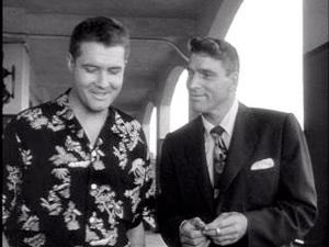 George and Burt Lancaster in From Here to Eternity
