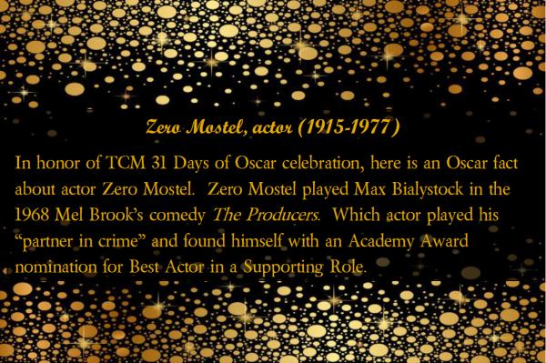 Zero Mostel_Question