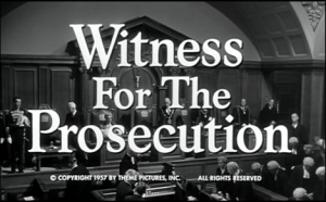 Withness for the Prosecution