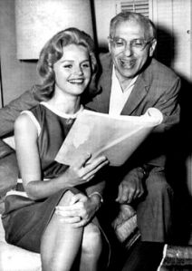 George Cukor with  Lee Remick