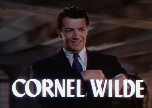 CornelWildeTextLeaveHerToHeavenTrailerScreenshot1945