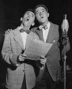 Jackie Kelk (left) and Dick Jones (right) from the radio program The Aldrich Family.