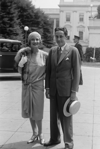 Mr. & Mrs. Irving Thalberg (Norma Shearer), 7/24/29