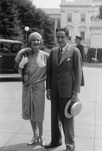Mr. & Mrs. Irving Thalberg (Norma Shearer), 7/24/29