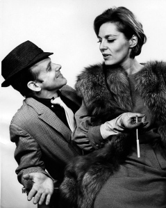 Bob Fosse and Viveca Lindfors for Broadway play, Pal Joey