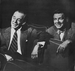 Richard Rodgers (left) and Oscar Hammerstein II